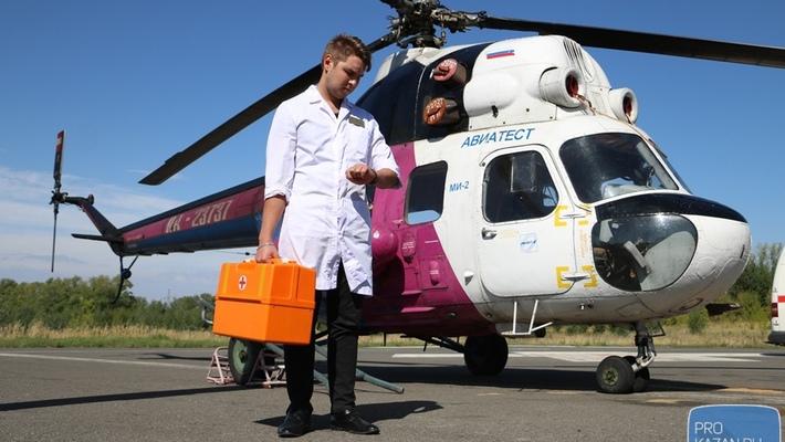ВПерми построили вертолетную площадку для санавиации