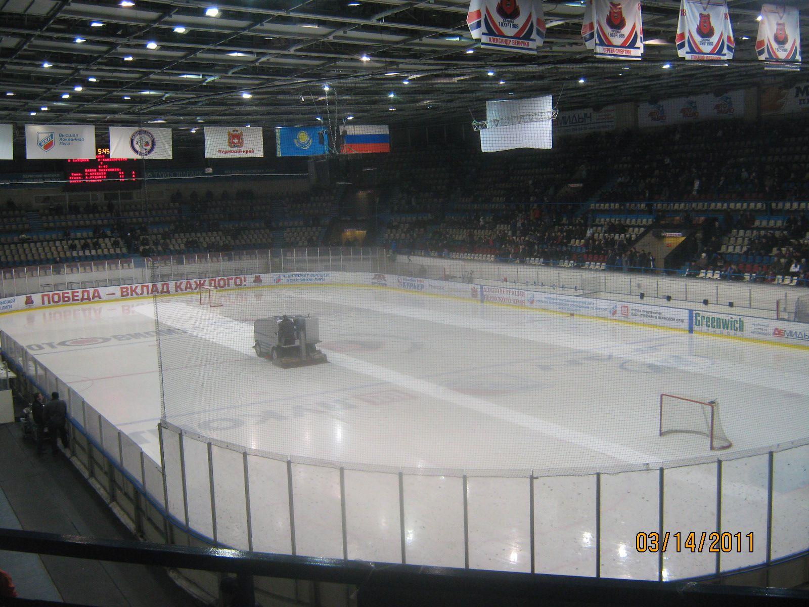 Пермское минспорта арендует спортивный дворец, вкотором играют «Парма» и«Молот-Прикамье»