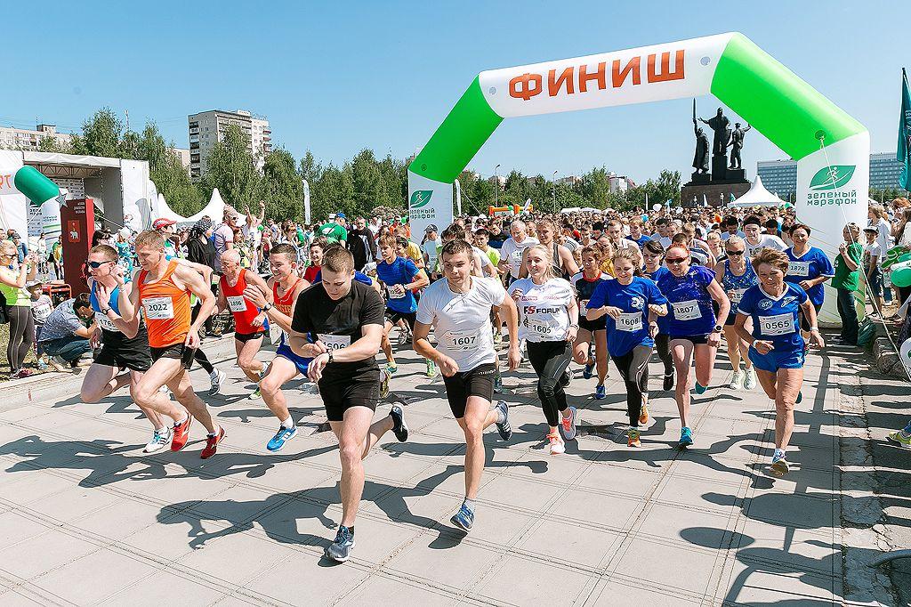Настарт «Зеленого марафона-2017» вПерми выйдут тысячи прикамцев