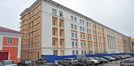 Бывшее здание ВКИУ в Перми внесли в список объектов с признаками культурного наследия