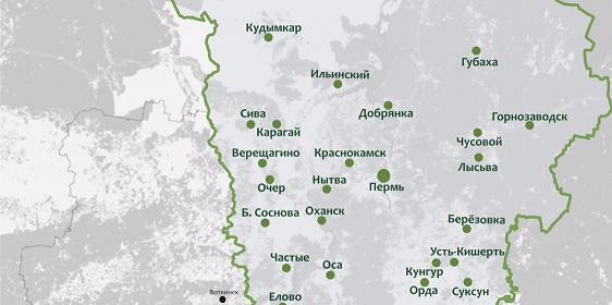 В Пермском крае инфекцию коронавируса обнаружили в 13 муниципальных образованиях
